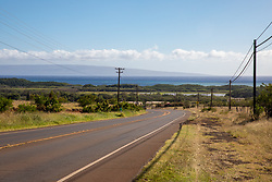 Looking Over Molokai Towards Lanai