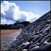 Sea Wall, Teignmouth Beach, Devon