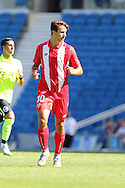 Juan Munoz of Sevilla during the Pre-Season Friendly match between Brighton and Hove Albion and Sevilla at the American Express Community Stadium, Brighton and Hove, England on 2 August 2015. Photo by Stuart Butcher.
