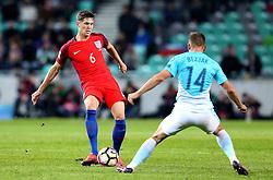 John Stones of England passes the ball - Mandatory by-line: Robbie Stephenson/JMP - 11/10/2016 - FOOTBALL - RSC Stozice - Ljubljana, England - Slovenia v England - World Cup European Qualifier