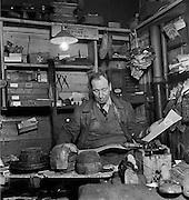 Billingsgate Hat Shop, London, 1934