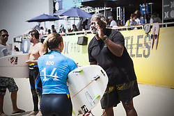 September 12, 2017 - Pauline Ado of France after her Round Two heat at the Swatch Pro...Swatch Pro 2017, California, USA - 12 Sep 2017 (Credit Image: © Rex Shutterstock via ZUMA Press)
