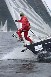 The Silvers Marine Scottish Series 2014, organised by the  Clyde Cruising Club,  celebrates it's 40th anniversary.<br /> <br /> Day 2  GBR4407, Sequoia, Andrew Scott, Western Isles YC, Maxi Mixer<br /> <br /> Racing on Loch Fyne from 23rd-26th May 2014<br /> <br /> Credit : Marc Turner / PFM