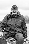 Putney, London,  Tideway Week, Championship Course. River Thames,  Goldie Coach. Donald LEGGET. <br /> Friday  31.03.2017<br /> <br /> [Mandatory Credit; Credit: Peter SPURRIER/Intersport Images.com ]