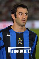 Bari 3/8/2004 Trofeo Birra Moretti - Juventus Inter Palermo. <br /> <br /> Georgios Karagounis Inter<br /> <br /> Risultati / results (gare da 45 min. each game 45 min.) <br /> <br /> Juventus - Inter 1-0 Palermo - Inter 2-1 Juventus b. Palermo dopo/after shoot out <br /> <br /> Photo Andrea Staccioli
