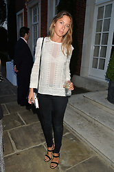 JEMIMA JONES at a party hosed by the US Ambassador to the UK Matthew Barzun, his wife Brooke Barzun and editor of UK Vogue Alexandra Shulman in association with J Crew to celebrate London Fashion Week held at Winfield House, Regent's Park, London on 16th September 2014.