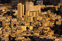 Overview of Haifa, Israel.