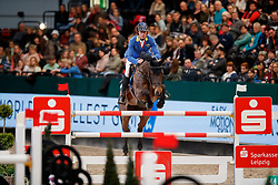 Ahlmann Christian, GER, Ailina<br /> Championat von Leipzig price<br /> Leipzig - Partner Pferd 2018<br /> © Hippo Foto - Stefan Lafrentz