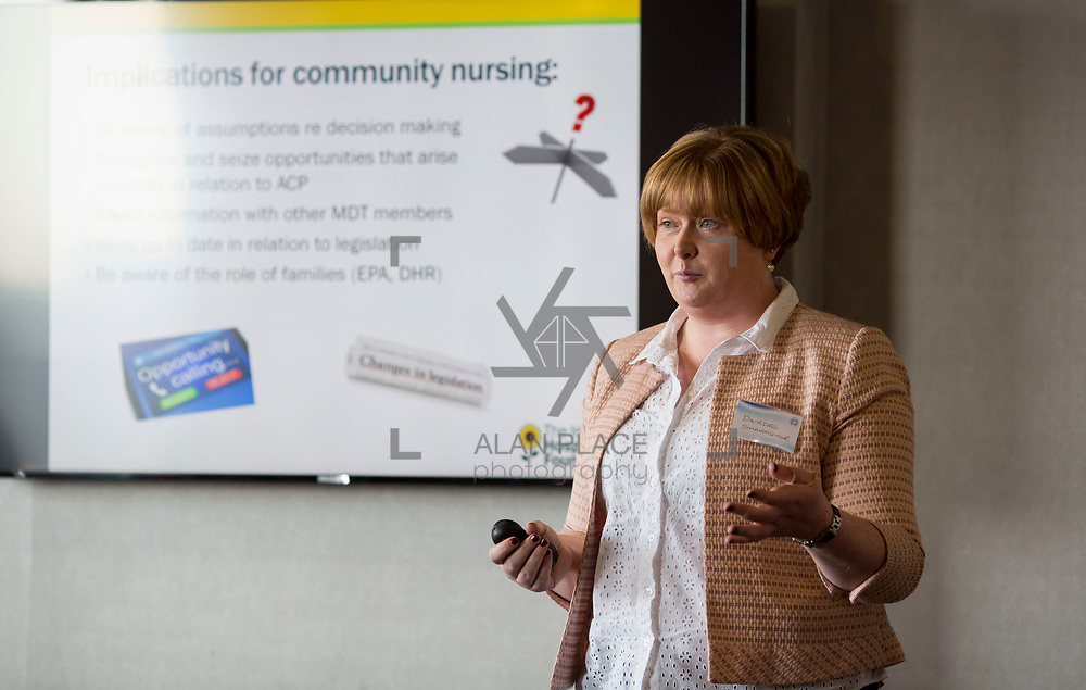 23.05.2018.       <br /> Today, the Institute of Community Health Nursing (ICHN) hosted its2018 community nurseawards in association withHome Instead Senior Care,at its annual nursing conference, in the Strand Hotel Limerick, rewarding public health nurses for their dedication to community care across the country. <br /> <br /> Pictured at the event was Deirdre Shanagher. Picture: Alan Place