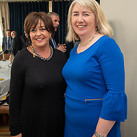 REPRO FREE<br /> Alice DeLaCour, Irish Examiner and Sinead McNamara, Fitzgeralds Solicitors pictured at the launch of the hugely popular 'Doing Business in Kinsale 2019/20' guide at the Old Head Golf Links by Minister Jim Daly TD<br /> Picture. John Allen