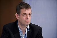 """28 MAY 2008, LEIPZIG/GERMANY: <br /> Jos Dings, T&E, Transport and Environment, International Transport Forum, ITF, Congress """"Transport and Energy - The Challenge of Climate Change"""", Congress Center Leipzig<br /> IMAGE: 20080528-01-085"""