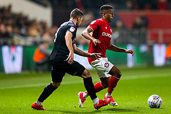 Niclas Eliasson of Bristol City is challenged by Jake Forster-Caskey of Charlton Athletic - Rogan/JMP - 23/10/2019 - Ashton Gate Stadium - Bristol, England - Bristol City v Charlton Athletic - Sky Bet Championship.
