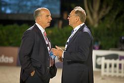 Madden John (USA), Louis Koninckx (NED)<br /> Final competiton<br /> Furusiyya FEI Nations Cup™ Final - Barcelona 2014<br /> © Dirk Caremans<br /> 11/10/14