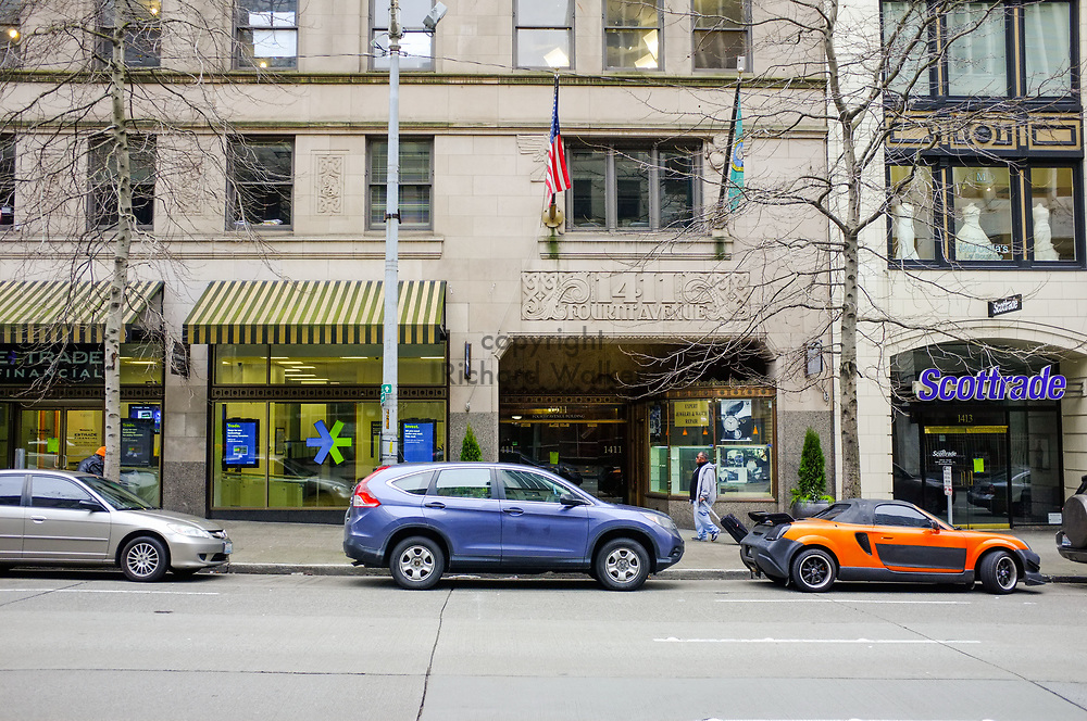 2017 MARCH 05 - 1411 4th Ave building, downtown, Seattle, WA, USA. By Richard Walker