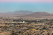 Aerial view of Las Vegas city, Nevada, USA