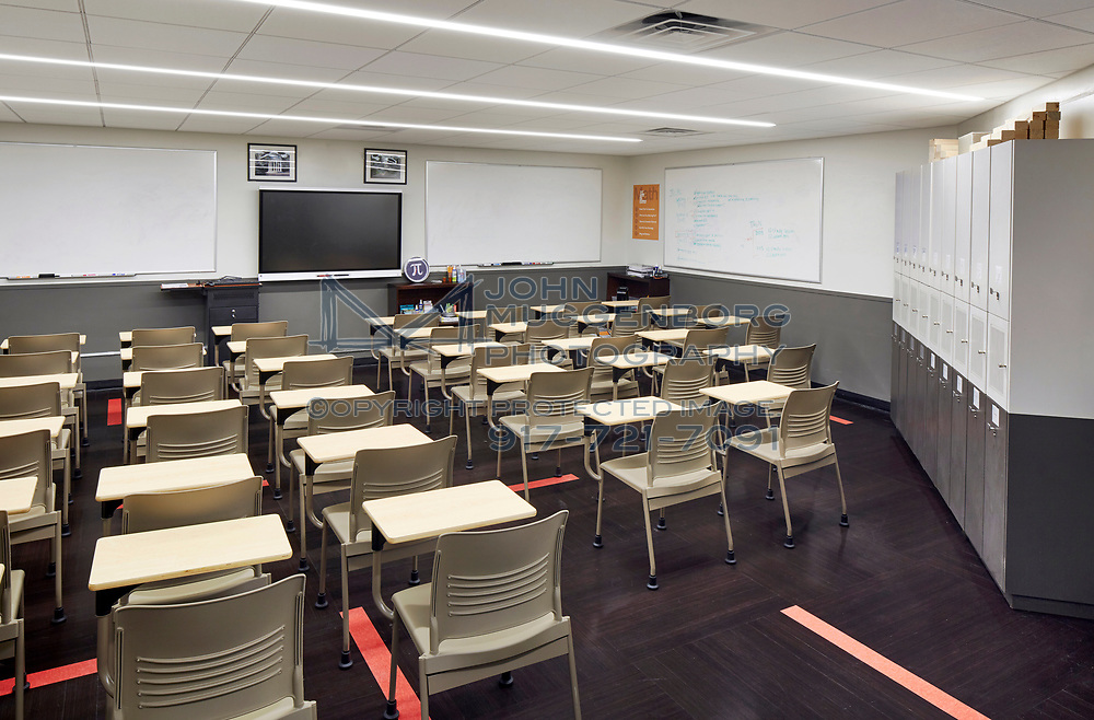 The Success Academy at 111 East 33rd St. with remodeling and furniture by ACISCO. Photography by John Muggenborg.