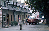 GV, general view, street scene, Sion Mills, near Strabane, Co Tyrone, mill village, 1970000078SM1..Copyright Image from Victor Patterson, 54 Dorchester Park, Belfast, United Kingdom, UK...For my Terms and Conditions of Use go to http://www.victorpatterson.com/Victor_Patterson/Terms_%26_Conditions.html