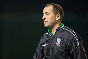 Kilmessan Shield Semi-Final at MDL, Navan, 26th February 2016.<br /> Navan Cosmos vs Trim Celtic<br /> Trim Celtic Manager - Paddy O`Reilly<br /> Photo: David Mullen /www.cyberimages.net / 2016