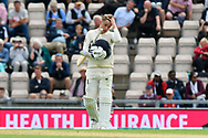 Sam Curran of England during the first day of the 4th SpecSavers International Test Match 2018 match between England and India at the Ageas Bowl, Southampton, United Kingdom on 30 August 2018.