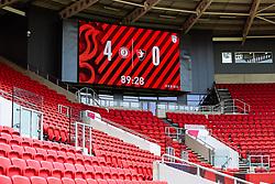 Bristol City win 4-0 - Rogan/JMP - 21/08/2020 - Ashton Gate Stadium - Bristol, England - Bristol City v Cheltenham Town - Pre Season Friendly.