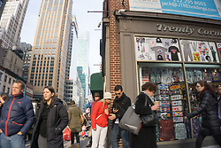 street scene in New York City