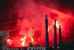 during football match between NK Maribor and Olimpija in 6th Round of Prva liga Telekom Slovenije 2020/21, on October 4, 2020 in Ljudski Vrt, Maribor, Slovenia. Photo by Blaž Weindorfer / Sportida