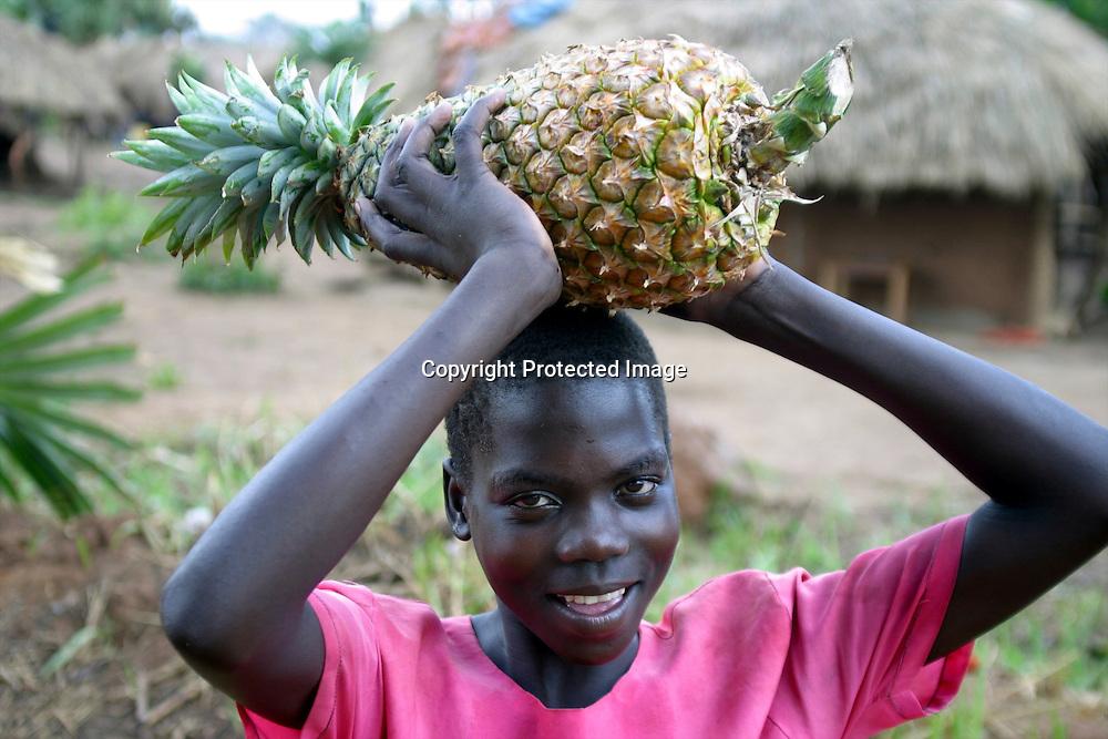 portrait of a Ugandan
