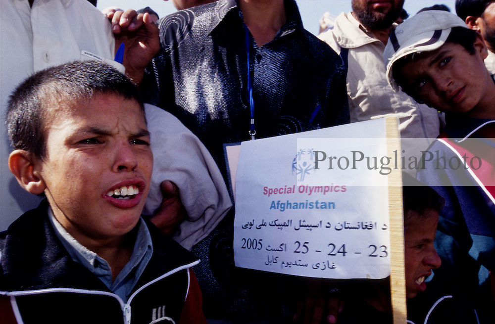 AFGHANISTAN..Kabul, 23 August 2005..Opening day