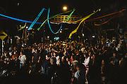 Una festa di quartiere per le strade di Montevideo, 13 dicembre 2015.  Christian Mantuano / OneShot