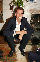 FRITZ VON WESTENHOLTZ at a Conservative Party summer garden party hosted by Lord Hesketh and held at 7 Lansdowne Road, Notting Hill, London W11 on 28th June 2004.