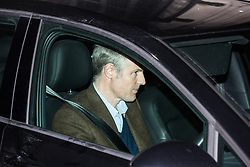 London, UK. 20th March, 2019. Zac Goldsmith, Conservative MP for Richmond and North Kingston, leaves the House of Commons on the evening that Prime Minister Theresa May was meeting Opposition leaders to discuss extending Article 50 before travelling to Brussels tomorrow for an EU summit.