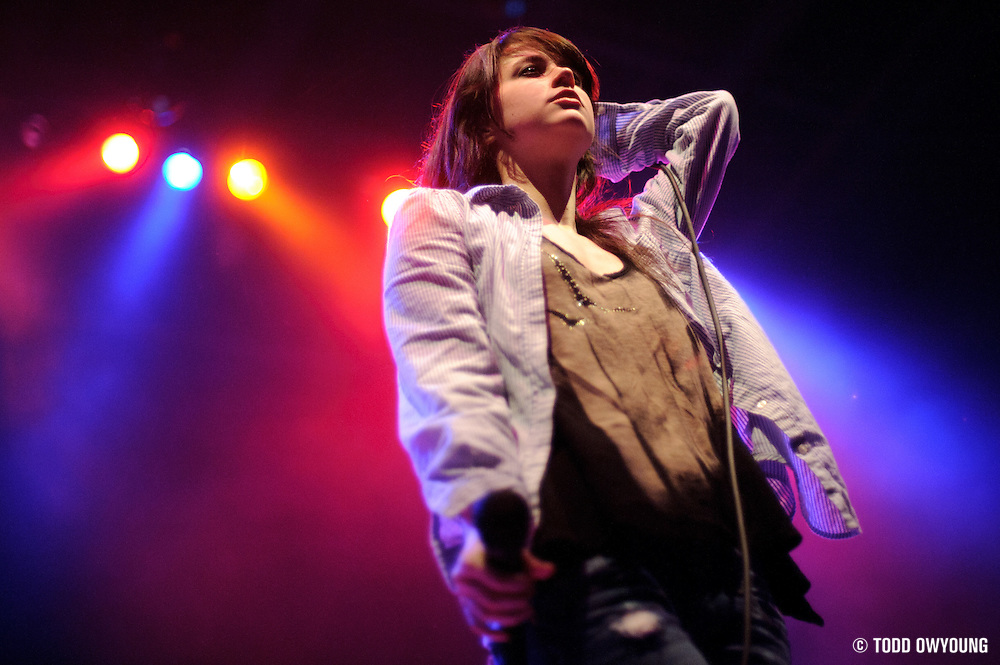 Photos of the band Sleeper Agent performing on February 24, 2011 at the Pageant in St. Louis.