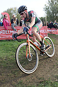 Belgium, November 1 2017:  Julian Kaise  (T.Palm - Pôle Continental Wallon) finished in 24th place in the 2017 edition of the Koppenbergcross. Copyright 2017 Peter Horrell.
