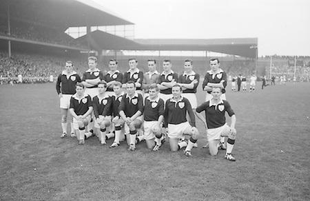All Ireland Senior Football Final Galway v. Dublin 22nd September 1963 Croke Park..22.09.1963  22nd September 1963Dublin.1-9.Galway.0-10..P. Flynn, L. Hickey, L. Foley, W. Casey, D. McKane, P. Holden, M. Kissane, D. Foley (Captain), John Timmons, B. McDonald, Mickie Whelan, G. Davey, S. Behan, D. Ferguson, N. Fox..Sub: P. Downey for P. Holden..D. Foley (Captain).