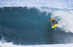 December 11, 2017 - Banzai Pipeline, HI, USA - BANZAI PIPELINE, HI - DECEMBER 11, 2017 - John John Florence of Hawaii competes in the first round of the Billabong Pipe Masters. (Credit Image: © Erich Schlegel via ZUMA Wire)