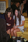 Claudia Winkleman and Tamara Mellon. Artists Independent Networks  Pre-BAFTA Party at Annabel's co hosted by Charles Finch and Chanel. Berkeley Sq. London. 11 February 2005. . ONE TIME USE ONLY - DO NOT ARCHIVE  © Copyright Photograph by Dafydd Jones 66 Stockwell Park Rd. London SW9 0DA Tel 020 7733 0108 www.dafjones.com