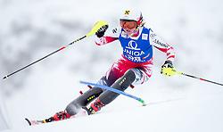29.12.2014, Hohe Mut, Kühtai, AUT, FIS Ski Weltcup, Kühtai, Slalom, Damen, 1. Durchgang, im Bild Julia Dygruber (AUT) // Julia Dygruber of Austria in action during 1st run of Ladies Slalom of the Kuehtai FIS Ski Alpine World Cup at the Hohe Mut Course in Kuehtai, Austria on 2014/12/29. EXPA Pictures © 2014, PhotoCredit: EXPA/ JFK