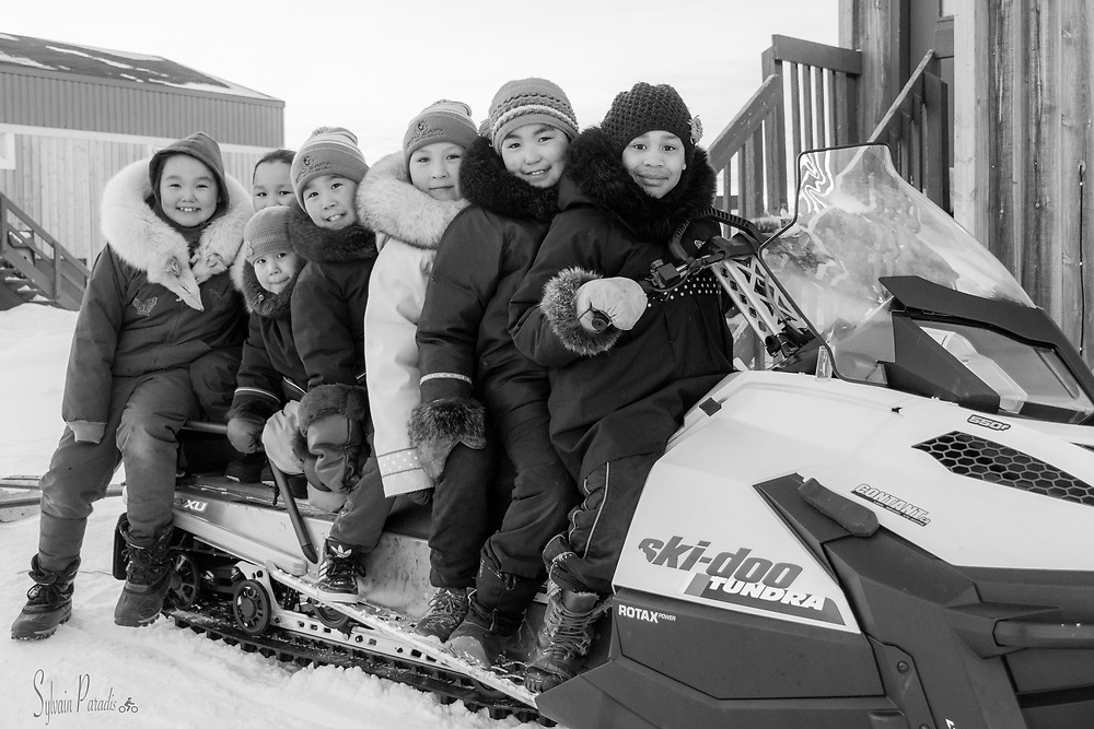 Let's go for a Ski-doo ride.