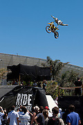 Athletes show off their style at the 2010 Ultimate X event in Cape Town. Picture by Greg Beadle