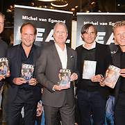 NLD/Scheveningen/20171107 - Boekpresentatie Deal, Dennis Bergkamp, schrijver Muchel van Egmond, voetbalmakelaar Rob Jansen, Phulip Cocu en Dirk Kuyt