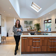 At Home Killearn. Sarah Bell in her home . Picture Robert Perry 8th Dec 2014