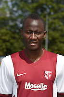 Ali BAMBA - 01.08.2014 - Photo Officielle de Metz -<br /> Photo : Fred Marvaux / Icon Sport