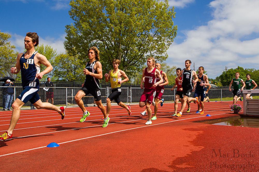 NJAC Track and Field Championships at Richard Wacker Stadium on the campus of  Rowan University  in Glassboro, NJ on Sunday May 5, 2013. (photo / Mat Boyle)