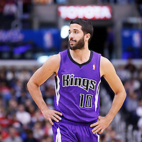 23 November 2013: Sacramento Kings point guard Greivis Vasquez (10) is seen during the Los Angeles Clippers 103-102 victory over the Sacramento Kings at the Staples Center, Los Angeles, California, USA.