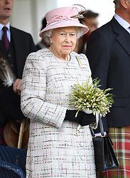 Members of The Royal Family attend The Braemar Royal Highland Gathering in Braemar, Aberdeenshire, UK, on the 2nd September 2017. 02 Sep 2017 Pictured: Queen, Queen Elizabeth. Photo credit: James Whatling / MEGA TheMegaAgency.com +1 888 505 6342