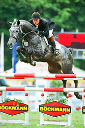 , Warendorf - Bundeschampionate 31.08. - 03.09.2000, Baldini - Kristoffersen, Bo