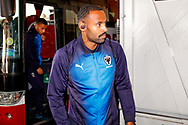 Wimbledon midfielder Liam Trotter (14) arrives during the EFL Sky Bet League 1 match between Blackpool and AFC Wimbledon at Bloomfield Road, Blackpool, England on 20 October 2018.