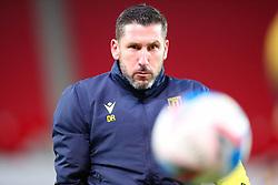 Stoke City goalkeeper coach David Rouse - Mandatory by-line: Nick Browning/JMP - 24/11/2020 - FOOTBALL - Bet365 Stadium - Stoke-on-Trent, England - Stoke City v Norwich City - Sky Bet Championship