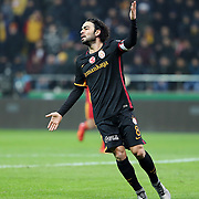 Galatasaray's Selcuk Inan during their Turkish Super League soccer match Kayserispor between Galatasaray at the Kadir Has Stadium in Kayseri Turkey on Sunday 27 December 2015. Photo by Kurtulus YILMAZ/TURKPIX