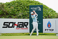 James Sugrue (AM)(IRL) on the 2nd during Round 1 of the Oman Open 2020 at the Al Mouj Golf Club, Muscat, Oman . 27/02/2020<br /> Picture: Golffile   Thos Caffrey<br /> <br /> <br /> All photo usage must carry mandatory copyright credit (© Golffile   Thos Caffrey)